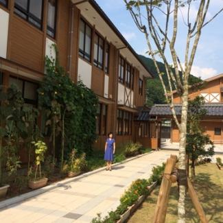 校舎の中庭