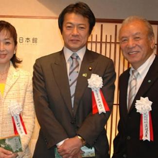 3月13日、日本館開館式当日。