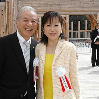渡辺貞夫総合監督と。