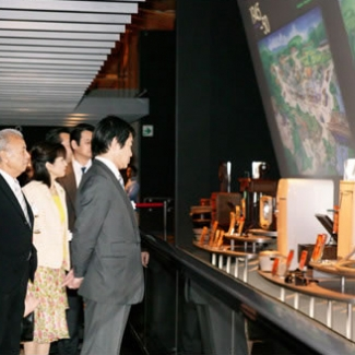 長久手日本館見学~過去60年間の日本の経験を振り返ります。