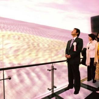 長久手日本館見学~地球の部屋を体感。