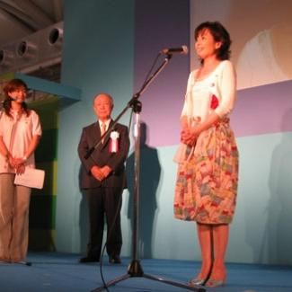 パチンコ大衆文化・福祉応援賞を受賞された皆さんと。