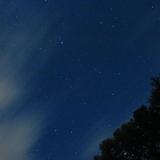 星のまたたく夜