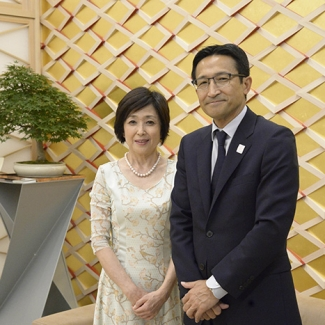 Japan Pavilion With Mr. Tatsuya Kato government representative