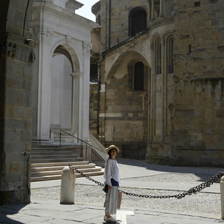 ベルガモ ローマ帝国時代の建物