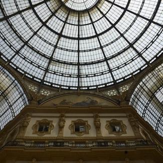 ミラノ ガレリアセンター天井