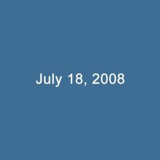 July 18, 2008