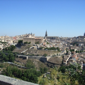 July 18: View of Toledo