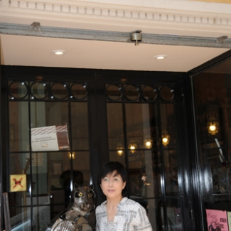 Zaragoza The beckoning cat in the bar?