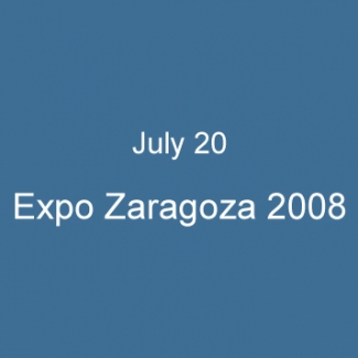 July 20 Expo Zaragoza 2008