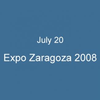 July 20 Expo Zaragoza 2008