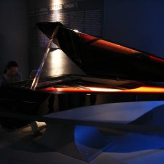 Italy Pavilion Cutting-edge grand piano