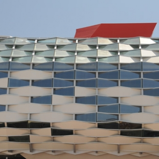 Aragon Pavilion Zaragoza is the main city in Aragon Province It imitates a local fruit basket