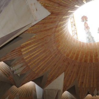 Catalonia style vaulted ceiling