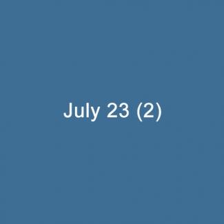 July 23 (2)