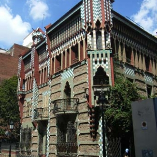 Gaudi construction in Barcelona (1)-2