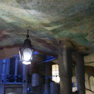 Inside the Casa Mila