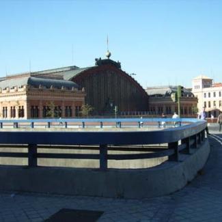 7月19日 マドリッド中央駅