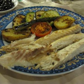 7月22日 バルセロナ 「家庭画報」にも紹介されたという老舗レストラン「ホテルスペイン」