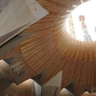 カタルーニャ風の丸天井