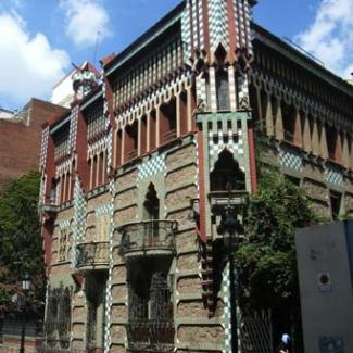 バルセロナ市内のガウディ建築①-(2)