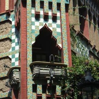 バルセロナ市内のガウディ建築①-(3)